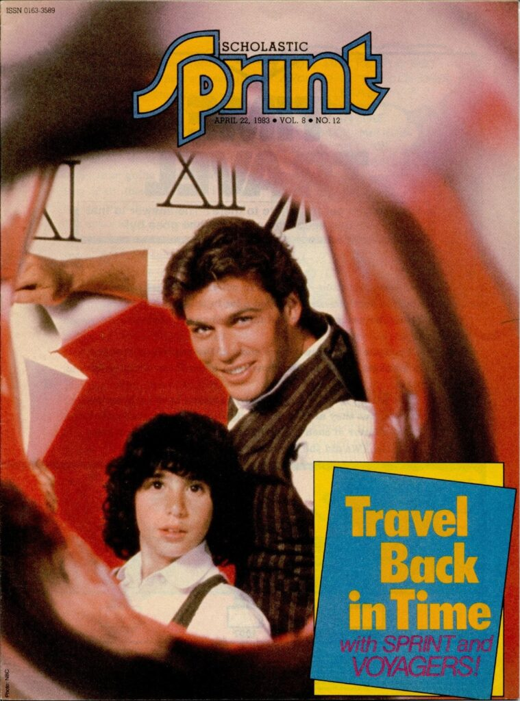 Voyagers Scholastic Sprint Cover
