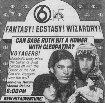 Voyagers TV Ad-Cleo and the Babe
